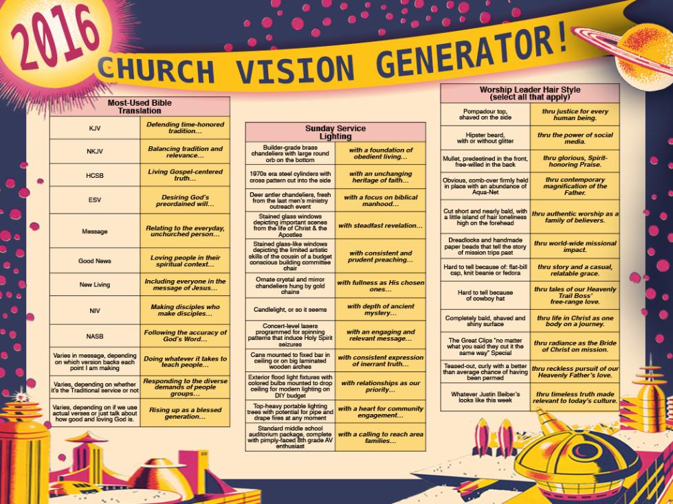 Vision Generator 16